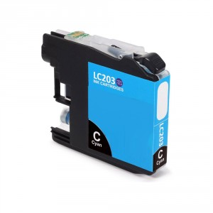 Brother LC203XL Ink Cartridge Cyan New Compatible