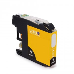 Brother LC203XL Ink Cartridge Yellow New Compatible