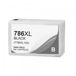Epson T786 Ink Cartridge Black New Compatible High Yield