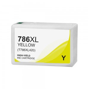 Epson T786 Ink Cartridge Yellow New Compatible High Yield