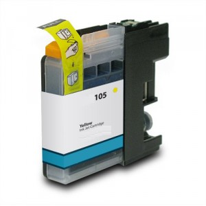 Yellow Brother LC105XL Ink Cartridge New Compatible