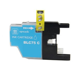 Brother LC75XLC Ink Cartridge Cyan New compatible