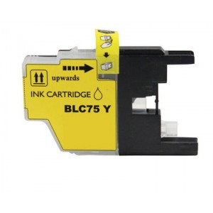 Brother LC75XLY Ink Cartridge Yellow New compatible
