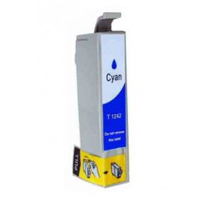 Epson T124220 (T1242) Ink Cartridge Cyan (Canada Only) New Compatible