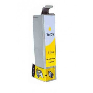 Epson T124420 (T1244) Ink Cartridge Yellow(Canada Only) New Compatible