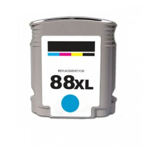 HP 88XL (C9391AN) New Compatible  Ink Cartridge Cyan