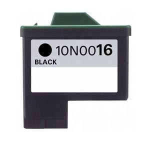 Lexmark 16 Ink Cartridge Black (10N0016) New Compatible