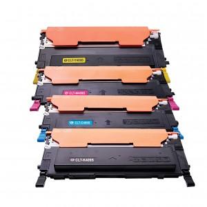 4 Pack BK/C/Y/M Combo Samsung CLTC409S Toner Cartridge New Compatible
