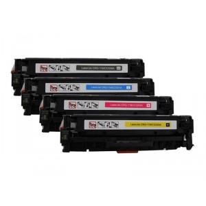 4 Pack BK/C/Y/M Combo Canon CRG-118K/C/M/Y/Hp CC530A/CC531A/CC532A/CC533A  Hp CF380/1/2/3A / CE410/1/2/3A / HP 312X/ HP 305A Black Cyan Magenta Yellow Toner Cartridge New Compatible