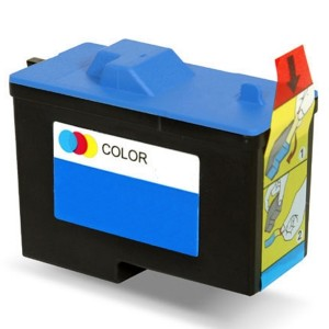 Dell 7Y745 (X0504) Ink Cartridge Black Remanufactured (Series 2)