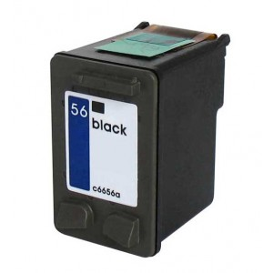 Hp 56 (C6656A) Ink Cartridge Black Remanufactured