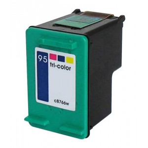 Hp 95 (C8766W) Ink Cartridge Tricolor Remanufactured