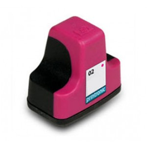 Hp 02 (C8772WN) Ink Cartridge Magenta Remanufactured