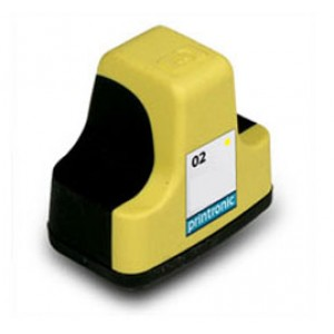 Hp 02 (C8773WN) Ink Cartridge Yellow Remanufactured