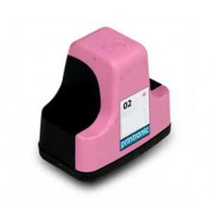 Hp 02 (C8775WN) Ink Cartridge Light magenta Remanufactured
