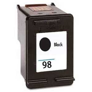 Hp 98 (C9364W) Ink Cartridge Black Remanufactured