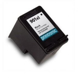 HP 901XL (CC654AN) Ink Cartridge Black Remanufactured (901XL)