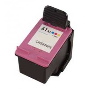 Hp 61XL Ink Cartridge Tricolor High Yield Remanufactured