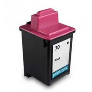 Lexmark 70 Ink Cartridge Black Remanufactured (12A1970)