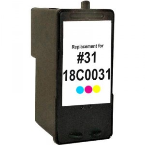 Lexmark 31 Ink Cartridge Photo Color Remanufactured (18C0031)