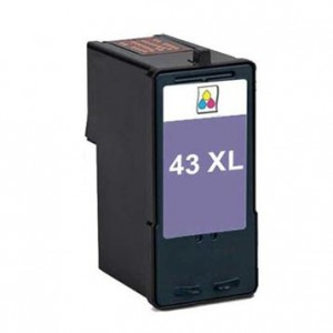 Lexmark 43XL Ink Cartridge Color Remanufactured (18Y0143)