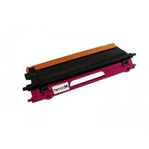 Brother TN115 Toner Cartridge Magenta Remanufactured