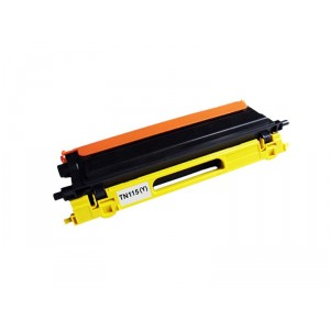 Brother TN115 Toner Cartridge Yellow Remanufactured