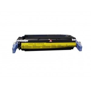 HP C9722A/Canon EP-85 Toner Cartridge Yellow Remanufactured
