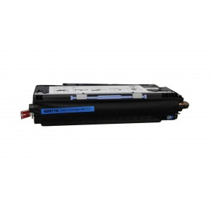 Hp Q2671A Toner Cartridge Cyan Remanufactured