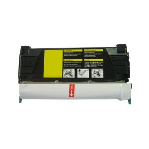 Lexmark C734/X734 Toner Cartridge Yellow High Yield Remanufactured